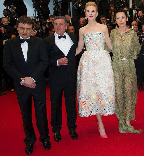 Nicole Kidman et Daniel Auteuil au Festival de Cannes 2013