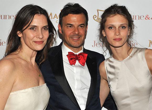 Géraldine Pailhas, François Ozon, Marine Vacth au Festival de Cannes 2013