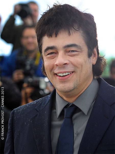 Benicio Del Toro au Festival de Cannes 2013