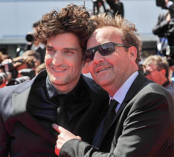 Louis Garrel et Xavier Beauvois au Festival de Cannes 2013