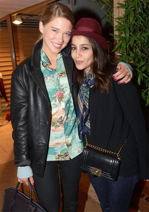 Léa Seydoux et Leila Bekhti au Festival de Cannes 2013
