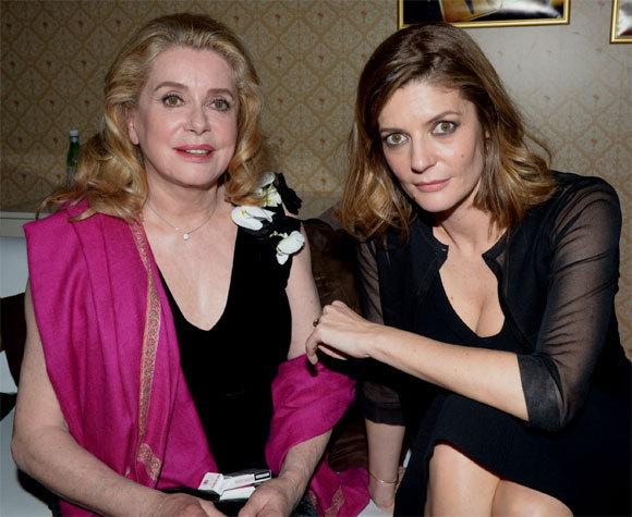 Catherine Deneuve et sa fille au 66ème Festival de Cannes