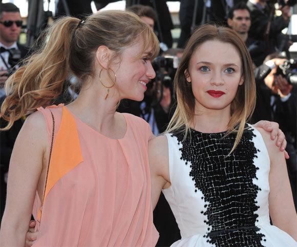 Katell Quillevere et Sara Forestier au 66ème Festival de Cannes