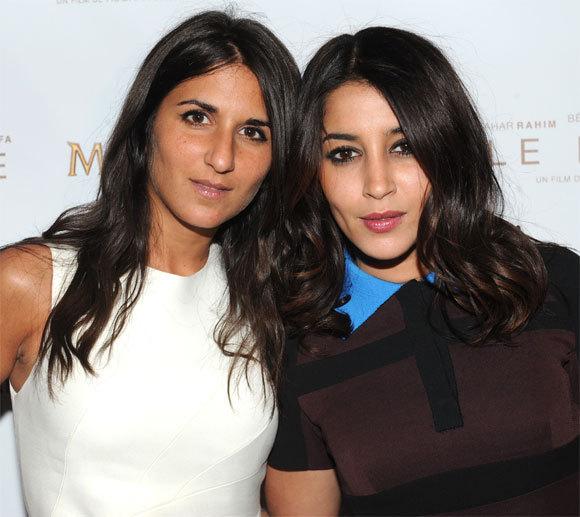 Géraldine Nakach et Leila Bekhti au 66ème Festival de Cannes