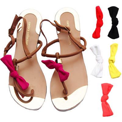 Sandales Carioca Collection à nœud coloré