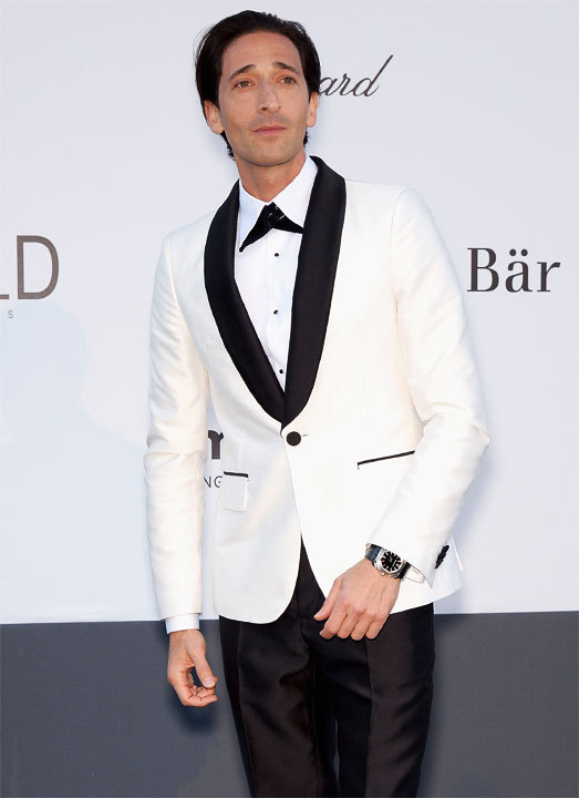 Adrien Brody au Festival de Cannes 2013