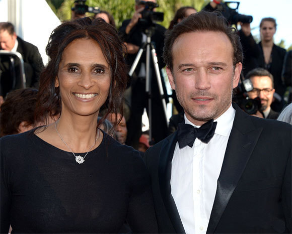 Vincent Perez et Karine Silla au Festival de Cannes 2013