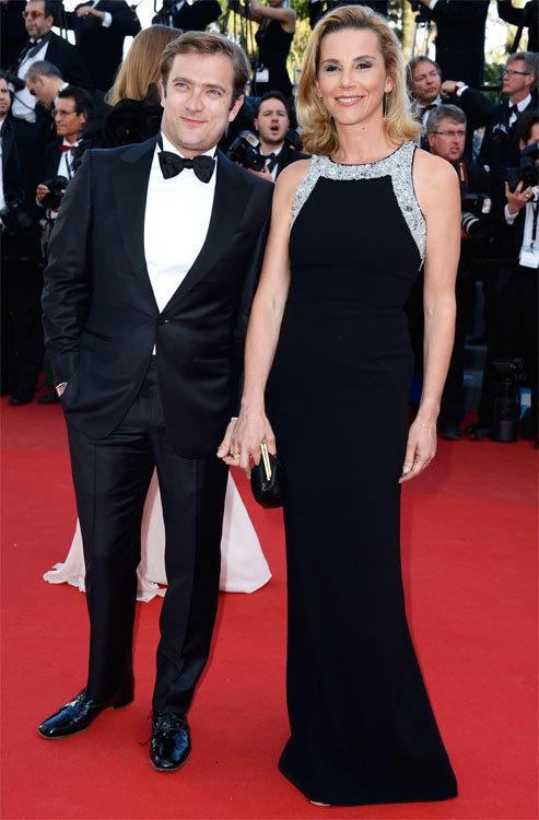 Laurence Ferrari et son mari Renaud Capucon au Festival de Cannes 2013