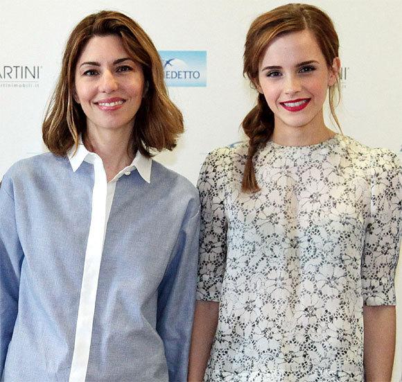 Sofia Coppola et Emma Watson au Festival de Cannes 2013