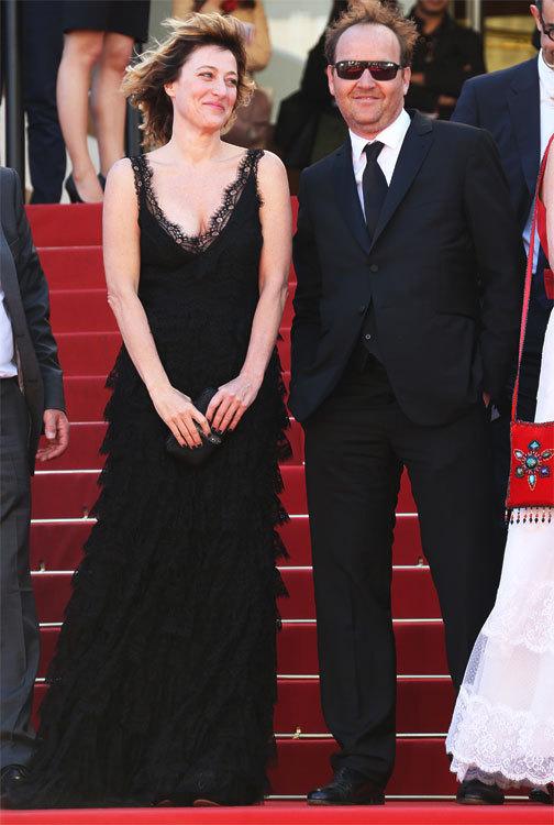 Valeria Bruni Tedeschi et Xavier Beauvois au 66ème Festival de Cannes
