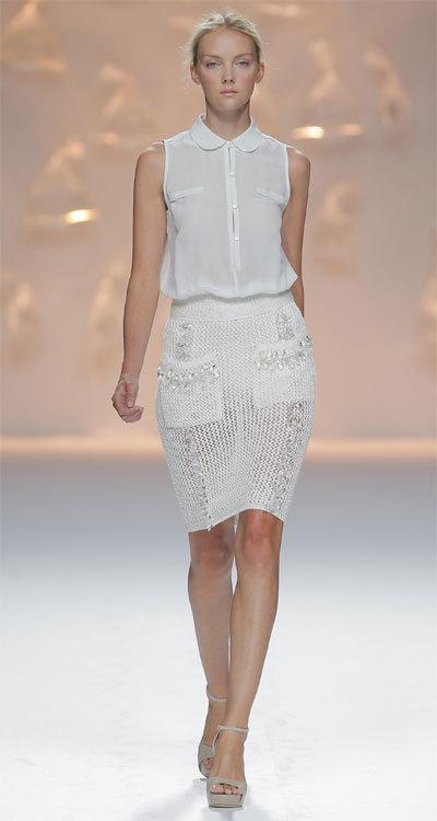 La mode du blanc vu par Sita Murt