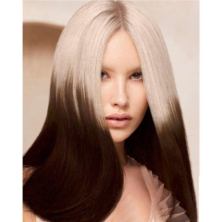 Coupe et coiffure pour cheveux longs REVLON Professionnel - Printemps-été 2021.