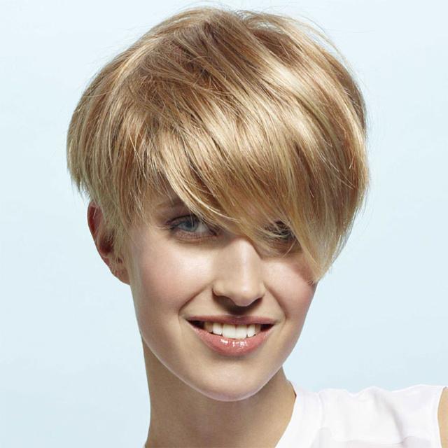 Coupe et coiffure printemps-été 2013 TCHIP pour cheveux courts