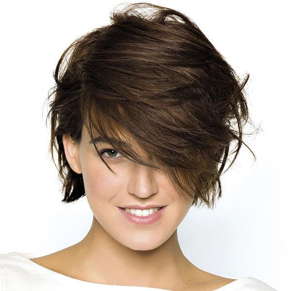 Coupe et coiffure printemps-été 2013 SAINT ALGUE pour cheveux mi-longs