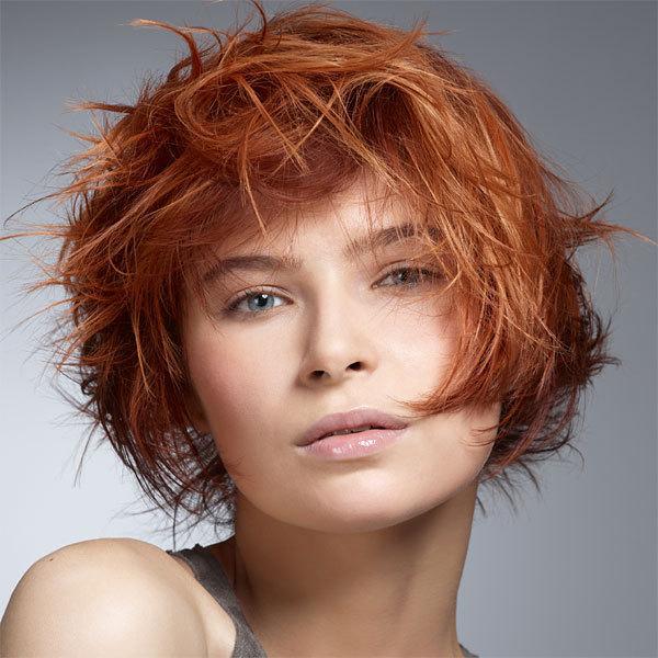 Coupe et coiffure printemps-été 2013 INTERMEDE pour cheveux mi-longs