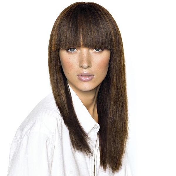 Coupe et coiffure printemps-été 2013 SAINT ALGUE pour cheveux longs