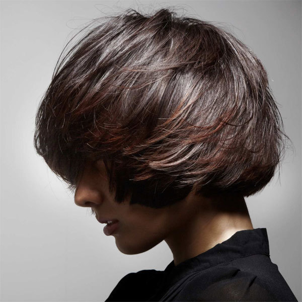 Coiffure STUDIO AVENUE - cheveux mi-longs - automne-hiver 2012/2013
