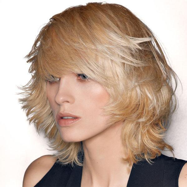 Coiffure SAINT ALGUE - cheveux mi-longs - automne-hiver 2011/2012
