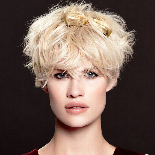 Coiffure HAIRCOIF - cheveux courts - automne-hiver 2012/2013