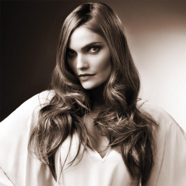Coiffure INTERCOIFFURE - cheveux longs - printemps-été 2012