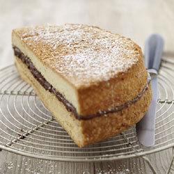 Souvenir du pays savoyard au Nutella, inspiré du gâteau de Savoie