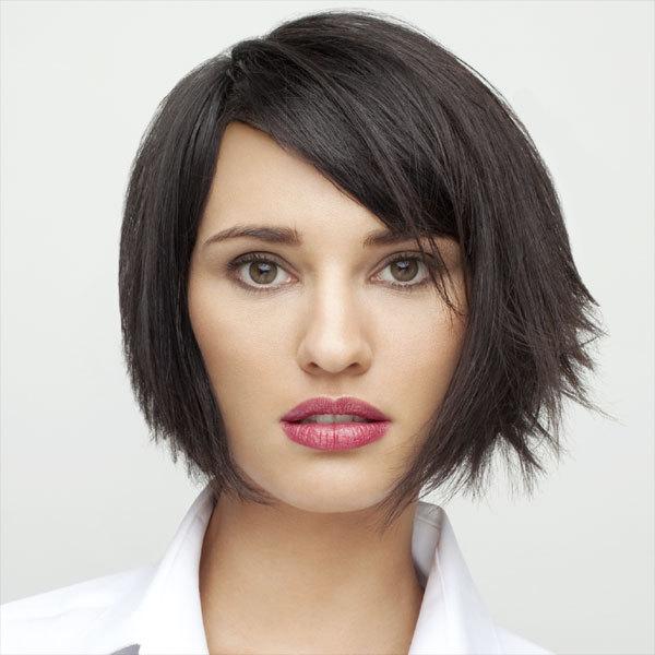 Coiffure LUCIE SAINT-CLAIR - cheveux mi-longs - Automne-hiver 2011-2012