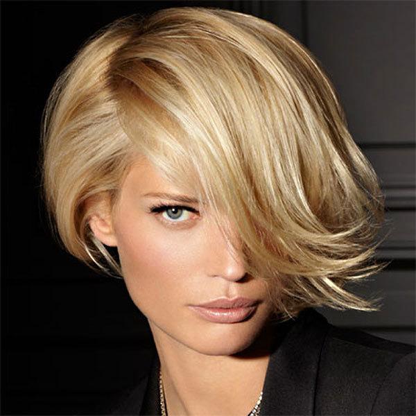 Coiffure FRANCK PROVOST- cheveux mi-longs - Automne-hiver 2011-2012
