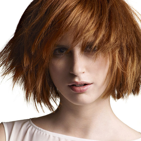 Coupe cheveux mi-longs - JEAN-MARC MANIATIS - automne-hiver 2013-2014