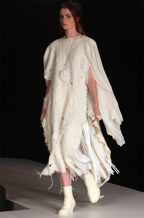 Création 2 de Ban Xiao, finaliste du Prix International Woolmark 2013