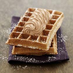 Gourmandise de Belgique au Nutella, inspirée de la gaufre de Bruxelles