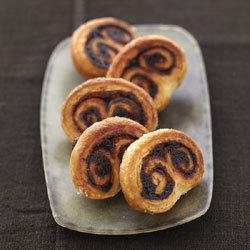 recette : arabesques au chocolat Nutella, inspirées des palmiers