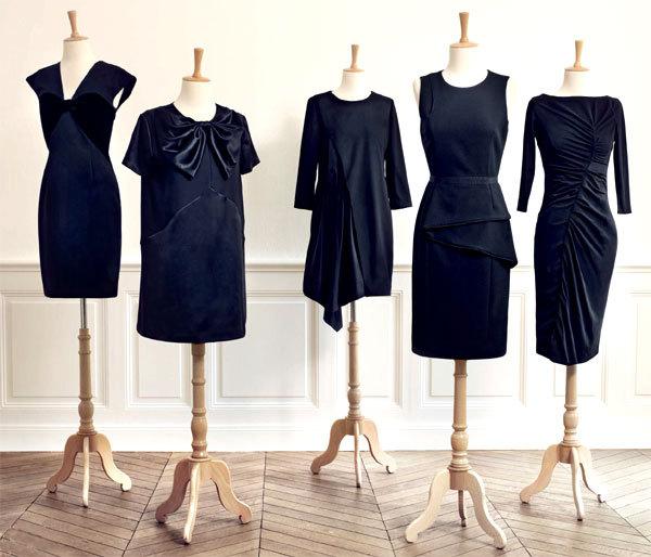 5 petites robes noires de couturiers à petit prix pour Monoprix