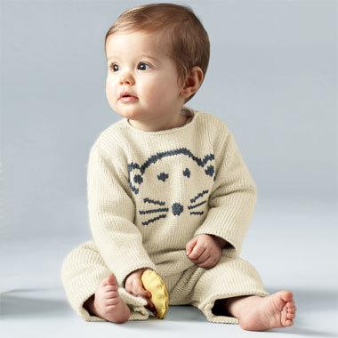 TRICOT GRATUIT - Combinaison pour bébé au point jersey - Création Phildar