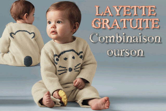 modele tricot layette a telecharger