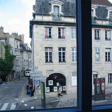 Besançon vue de la maison de naissance de Victor Hugo © D.R.