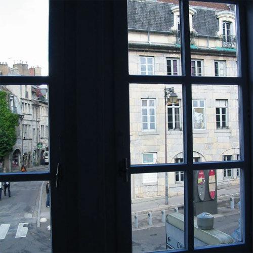 Photo : Besançon vue depuis la chambre de naissance de Victor Hugo © D.R.