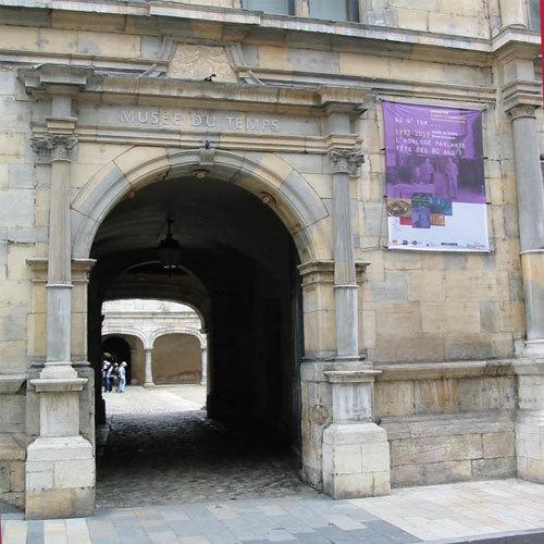 Besançon : le Musée du temps dans le palais Granvelle © D.R.