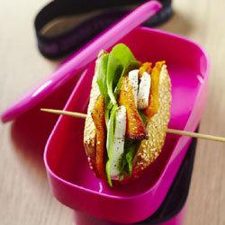 """Recette pour lunch box de Yannick Alléno : Baguette """"pep's"""""""