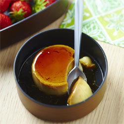 Recette pour lunch box de Yannick Alléno : Crème renversée inratable