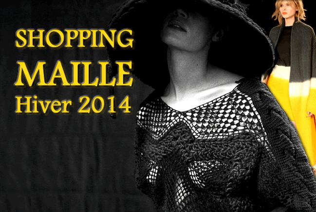 shopping style : ne passez pas l'hiver 2014 sans maille
