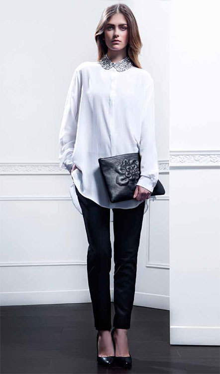Noir & Blanc hiver 2014 - ANNE FONTAINE