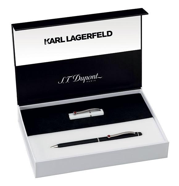 Noir & Blanc hiver 2014 - Karl LAGERFELD pour S.T. DUPONT