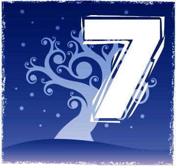 Chiffre numérologique 7