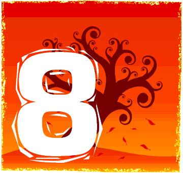 Chiffre numérologique 8