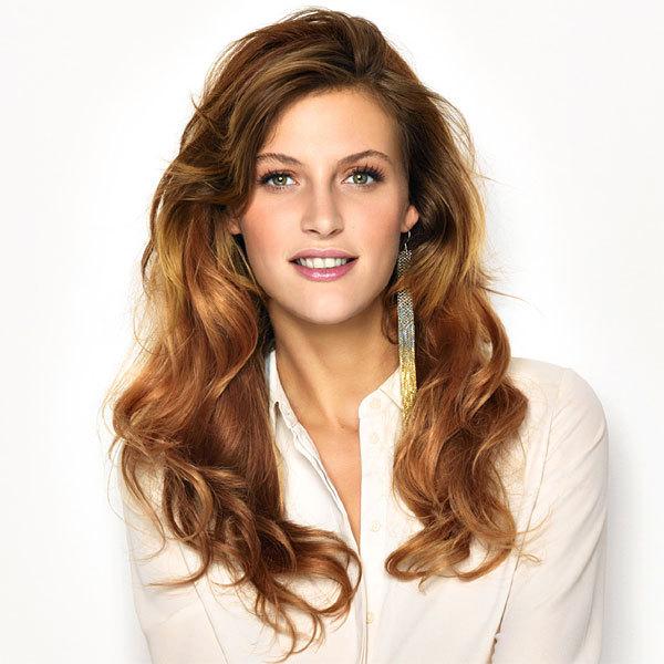 Coupe et coiffure cheveux longs et fins SAINT ALGUE - printemps-été 2014