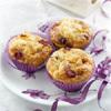 muffins pommes, cranberries et Boursault
