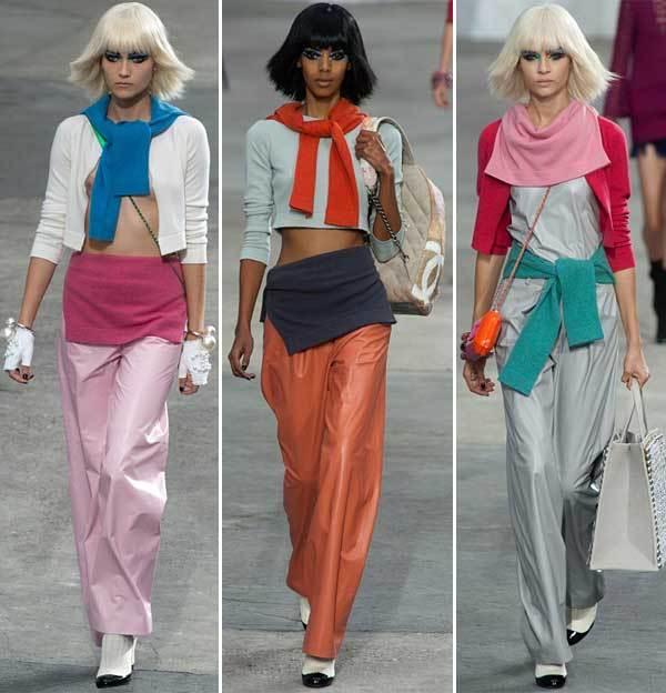 Les pulls noués : collection printemps-été 2014 Chanel