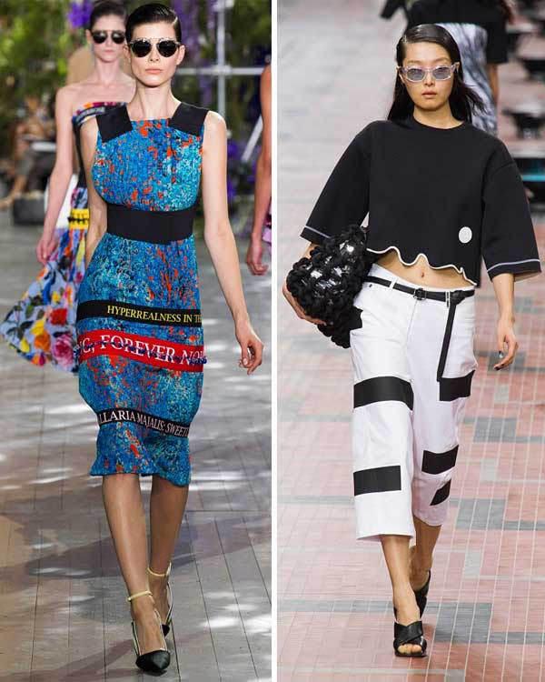 Les bandes : collections printemps-été 2014 Dolce & Gabbana et Kenzo