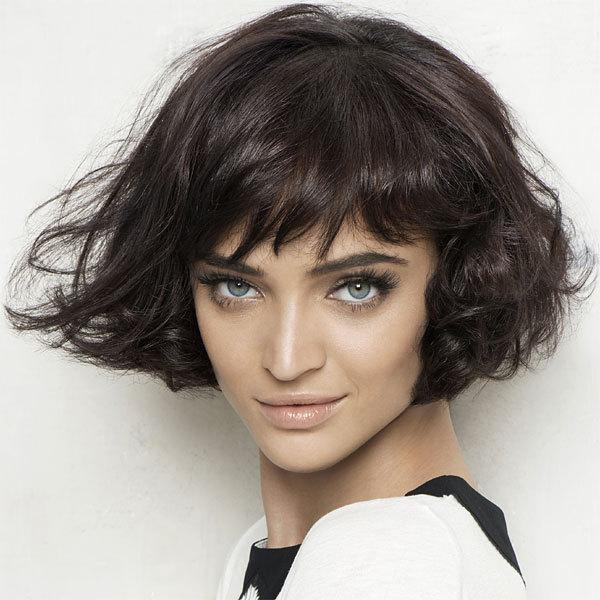 Coiffure cheveux mi-longs - FABIO SALSA - tendances printemps-été 2014
