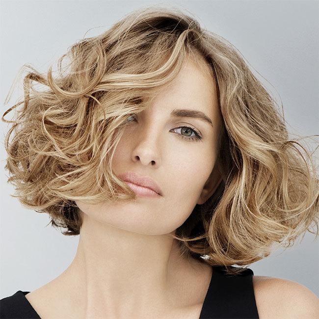 Coiffure cheveux mi-longs - INTERMEDE - tendances printemps-été 2014